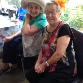 Joan and Helen